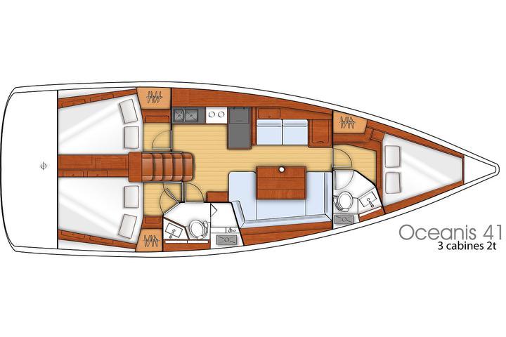 Oceanis 41 E